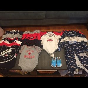 Other - Sports theme baby boy onesies bundle